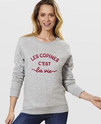 Sweatshirt femme Les copines c'est la vie