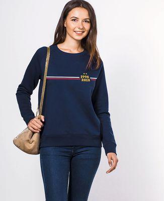 Sweatshirt femme Supporter France