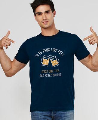 T-Shirt homme Si tu peux lire ceci