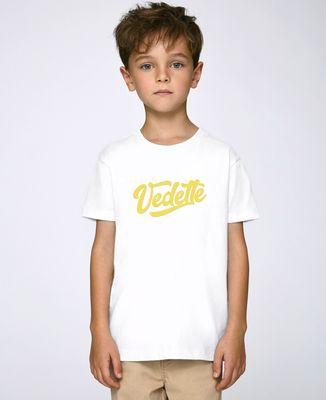 T-Shirt enfant Vedette (effet velours)