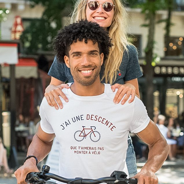 T-shirts à message