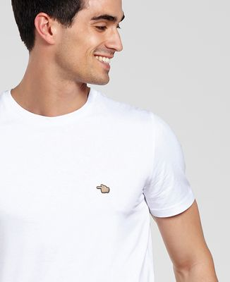 T-Shirt homme Pointer du doigt (brodé)