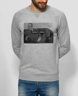 Sweatshirt homme French Swag Chirac