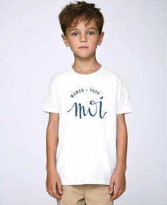 T-Shirt enfant Maman + Papa