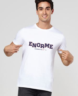 T-Shirt homme Enorme comme ...