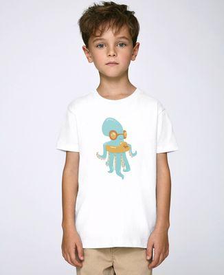 T-Shirt enfant Poulpe