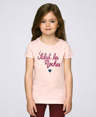 T-Shirt enfant Salut les moches coeur
