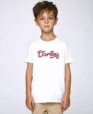 T-Shirt enfant Darling (effet velours)