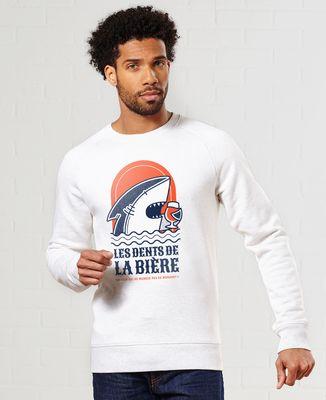 Sweatshirt homme Les Dents de la Bière - Monsieur Tshirt x LeGallodrome