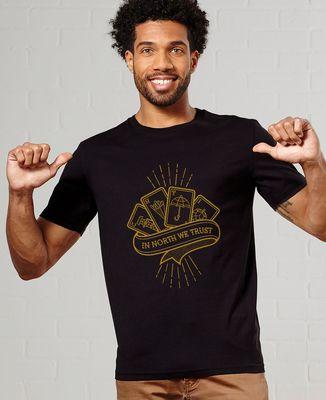 T-Shirt homme In North We Trust - Monsieur Tshirt x LeGallodrome