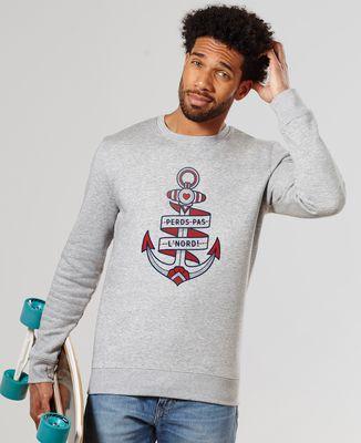 Sweatshirt homme Perds pas l'nord - Monsieur Tshirt x LeGallodrome