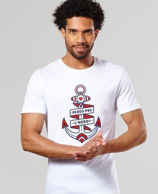 T-Shirt homme Perds pas l'nord - Monsieur Tshirt x LeGallodrome