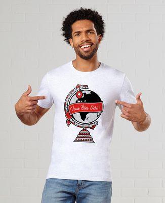 T-Shirt homme Vous êtes ichi - Monsieur Tshirt x LeGallodrome