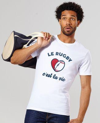 T-Shirt homme Le rugby c'est la vie