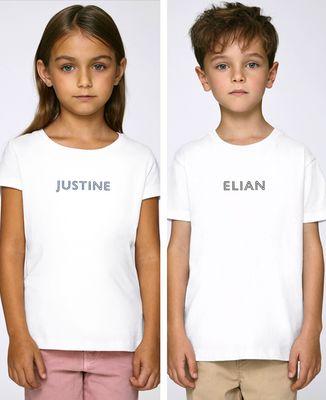 T-Shirt enfant Prénom personnalisé