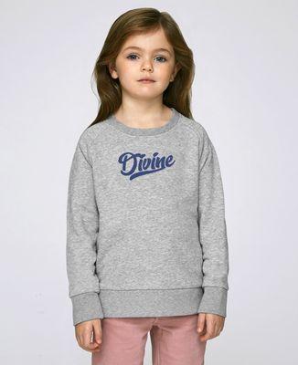 Sweatshirt enfant Divine (effet velours)
