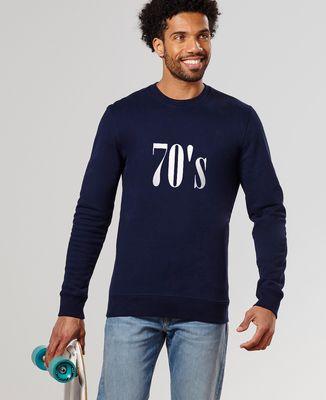 Sweatshirt homme Années 70