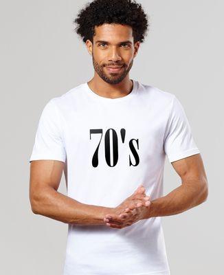 T-Shirt homme Années 70
