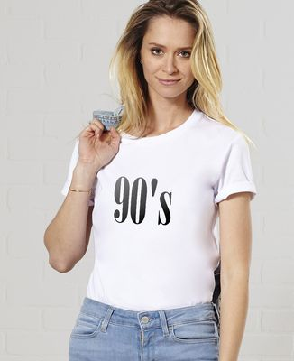T-Shirt femme Années 90