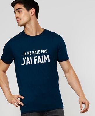 T-Shirt homme Je ne râle pas, j'ai faim