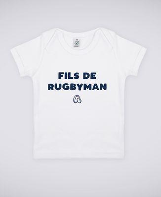 T-Shirt bébé Fils de rugbyman