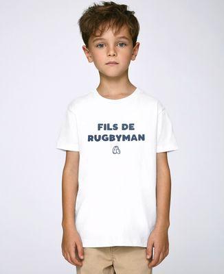 T-Shirt enfant Fils de rugbyman