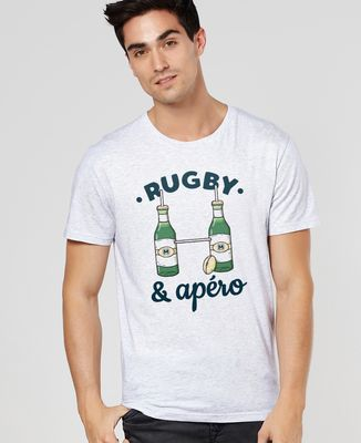 T-Shirt homme Rugby & Apéro