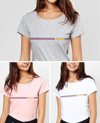 T-Shirt femme Frenchy personnalisé