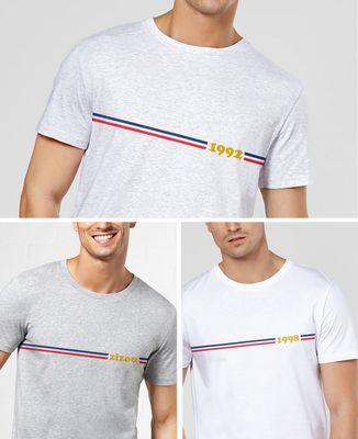 T-Shirt homme Frenchy personnalisé
