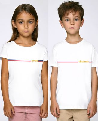T-Shirt enfant Frenchy personnalisé