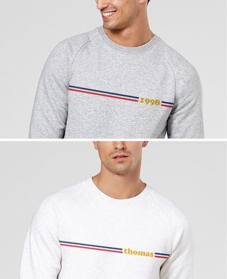 Sweatshirt homme Frenchy personnalisé