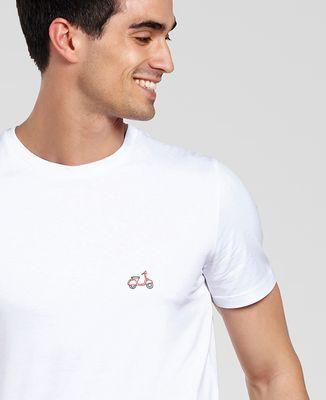 T-Shirt homme Vespa (brodé)