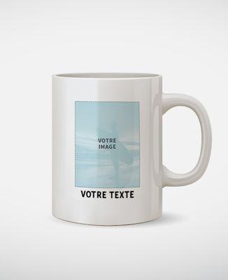 Mug Photo et Texte personnalisé