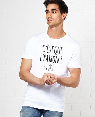 T-Shirt homme C'est qui l'patron ?