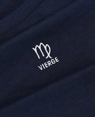 Sweatshirt homme Vierge signe astrologique (brodé)