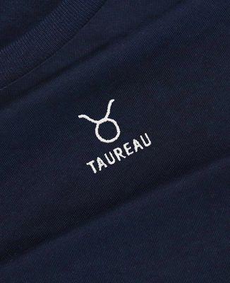 Sweatshirt homme Taureau signe astrologique (brodé)