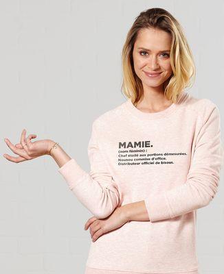 Sweatshirt femme Mamie définition