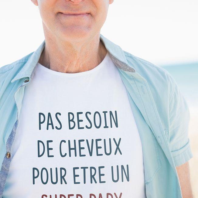 Grand P/ère T-Shirt Manches Longues Homme Papy Fier de Petits Enfants G/éniaux