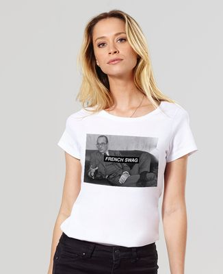 T-Shirt femme French Swag Chirac