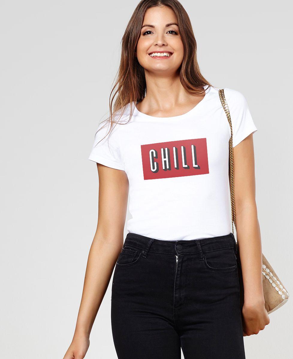 T-Shirt femme Chill