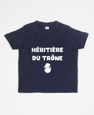 T-Shirt bébé Héritière du trône