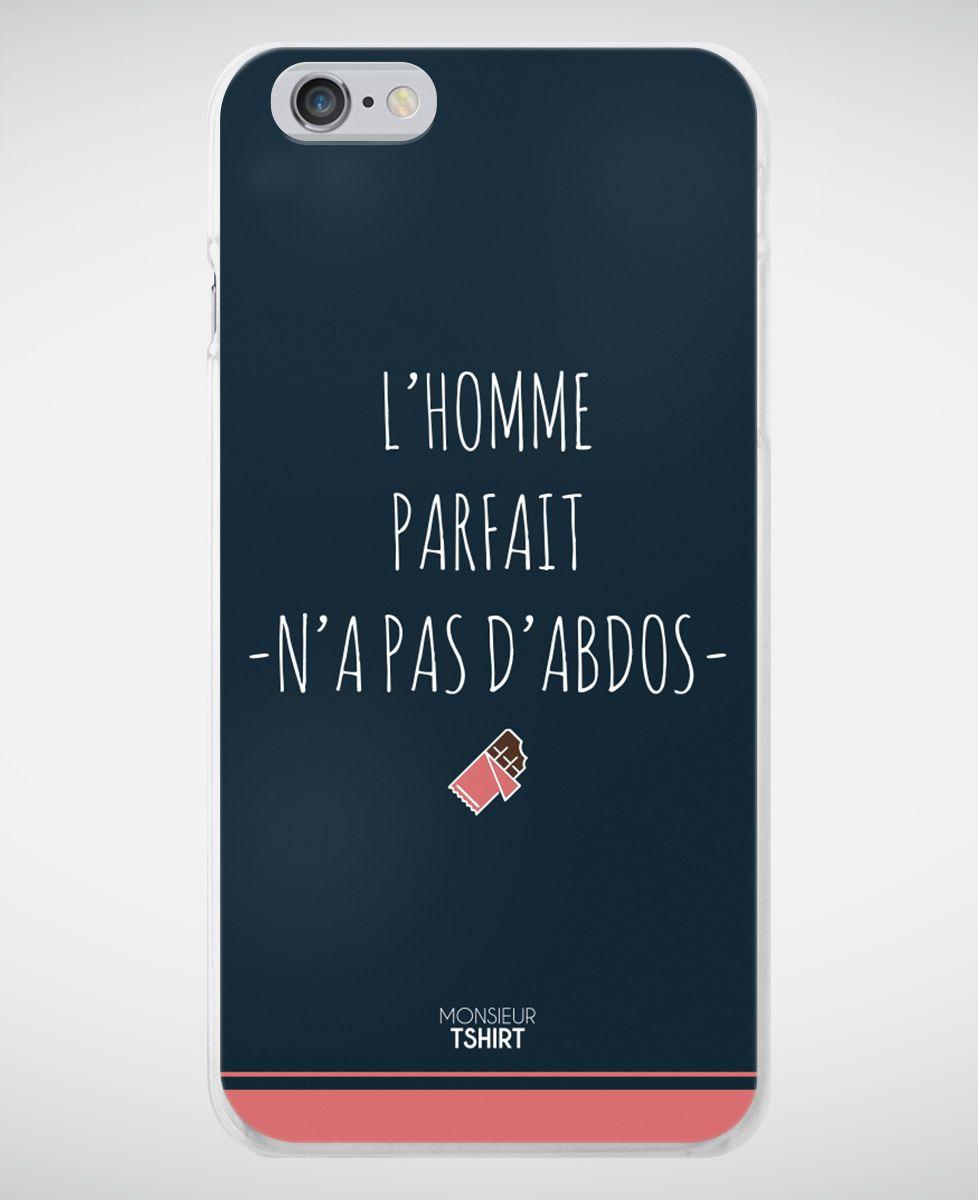 Coque smartphone L'Homme parfait
