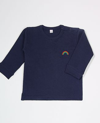 Sweatshirt bébé Arc en ciel (brodé)