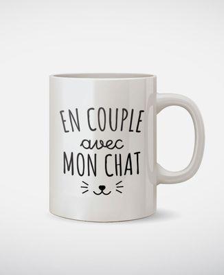 Mug En couple avec mon chat