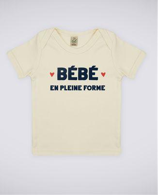 T-Shirt bébé Bébé en pleine forme