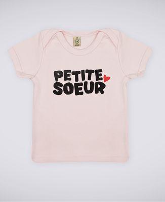 T-Shirt bébé Petite soeur