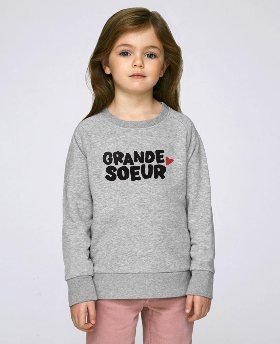 Sweatshirt enfant Grande soeur