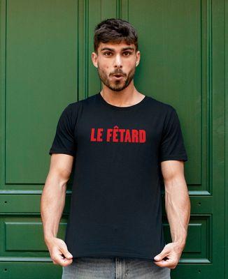 T-Shirt homme Le Fêtard (effet velours)