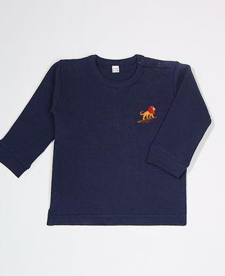Sweatshirt bébé Lion rocher (brodé)