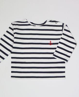 T-Shirt bébé Petite Ancre (brodé)